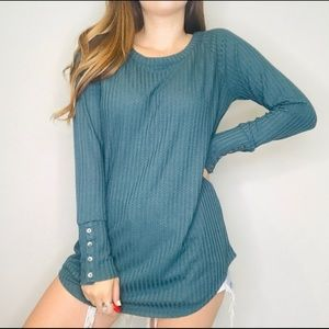 😍 NWT Chaser Teal Thermal!!